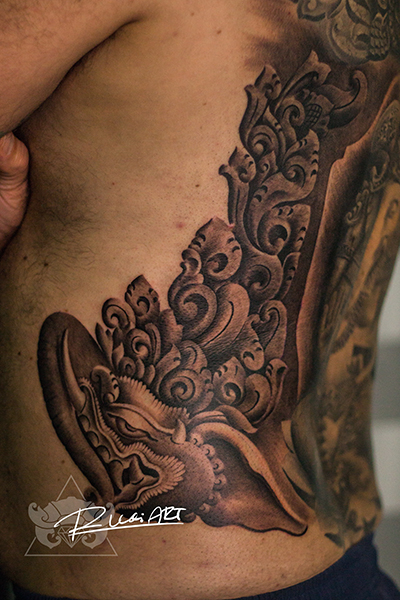 Balinese Tattoos In Kuta Bali Bali Tattoo Studio Gods Of